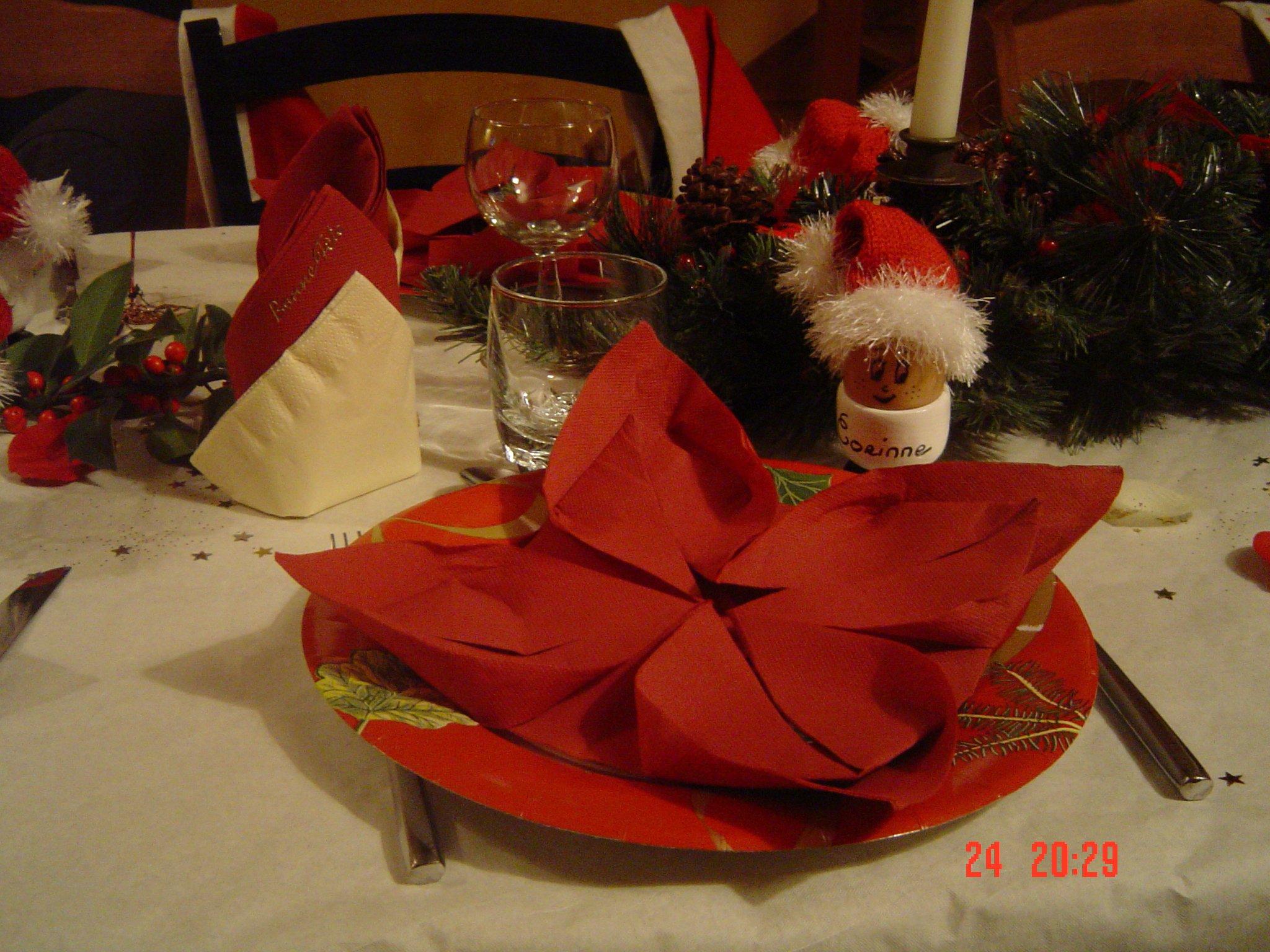 #BD2A0E Idée De Décoration De Table De Noël · Les Créations De Coco 5713 idée décoration noel classe 2048x1536 px @ aertt.com
